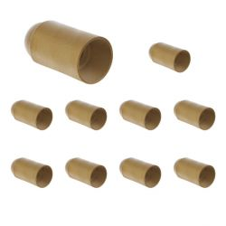 Lot de 10 Douilles E14 Simple bague Or EUR'OHM 62132